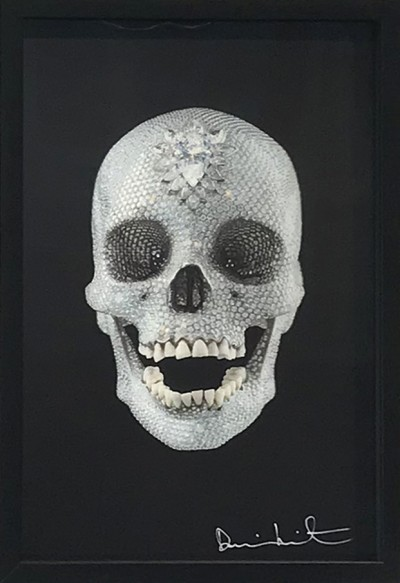 Damien Hirst - For the love of God 2012 Lenticular 734/5000