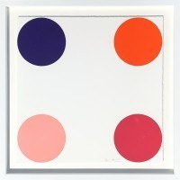 Damien Hirst - Carbonyl Iron 2011 Woodcut spots 9/55