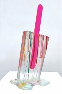 Betsy  Enzensberger - Spatter Clear Popsicle