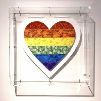 Damien Hirst - Butterfly Heart small (1138/3510)