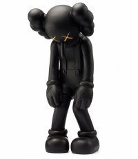 Kaws - Small Lie Companion - Black
