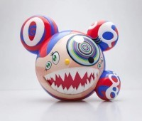 Takashi  Murakami - Mr. Dob Figure Red