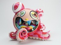 Takashi  Murakami - Mr. Dob A Figure Multicolor