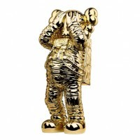 Kaws - Holiday Space Figure - Gold