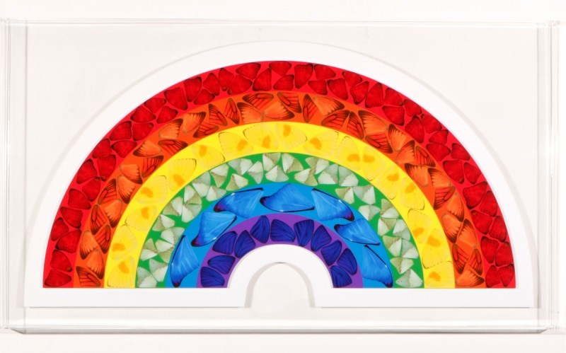 Damien Hirst - Butterfly Rainbow (Limited ed.)
