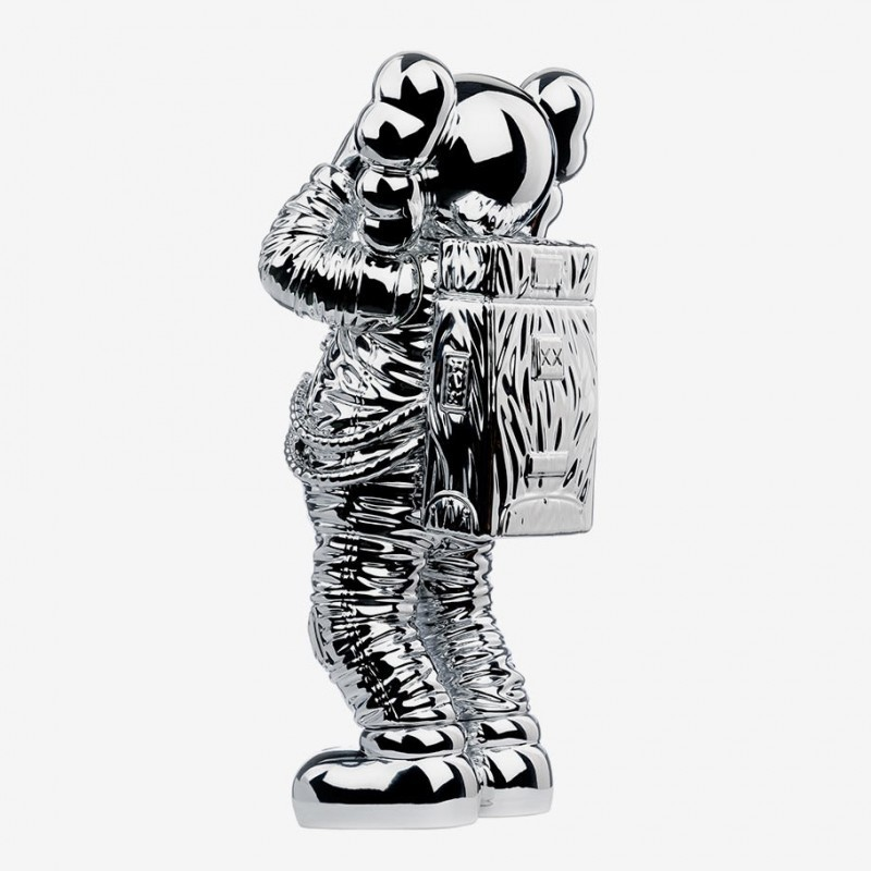 Kaws - Holiday Space Figure - Silver