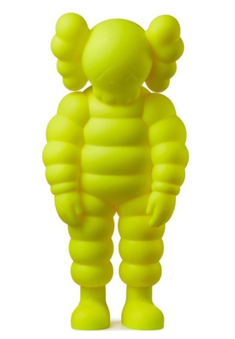 Kaws - What Party Figure - Yellow